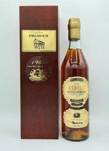 cognac Prunier 1967 grande champagne 52,8%