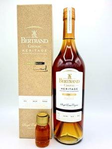 Cognac Bertrand - Héritage 49,2% (+3 cl sample for free)