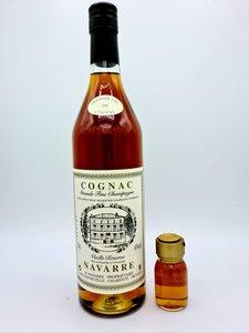 Cognac Navarre - Vielle réserve 45% (+3 cl sample for free)