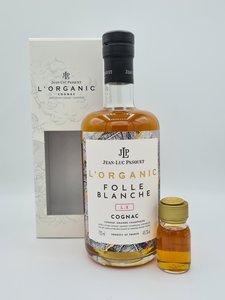 Cognac Jean-Luc Pasquet-  L'Organic Folle Blanche L.X. 48,4%  (+3 cl sample gratis)