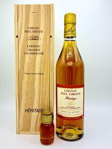 Cognac Paul Giraud - Héritage 40% (+3 cl sample for free)